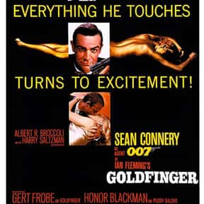 Goldfinger is listed (or ranked) 6 on the list The Best Spy Movies
