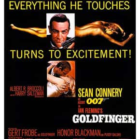 Goldfinger is listed (or ranked) 10 on the list The Best Movies of the '60s