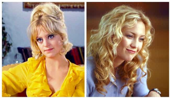 Goldie Hawn is listed (or ranked) 3 on the list Photos Of Famous Mothers And Their Famous Daughters At The Same Age