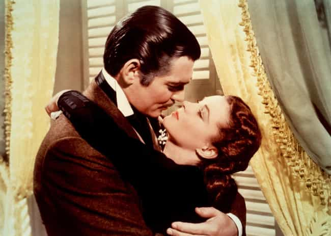 Gone with the Wind is listed (or ranked) 4 on the list The Best Movies Where the Guy Doesn't Get the Girl