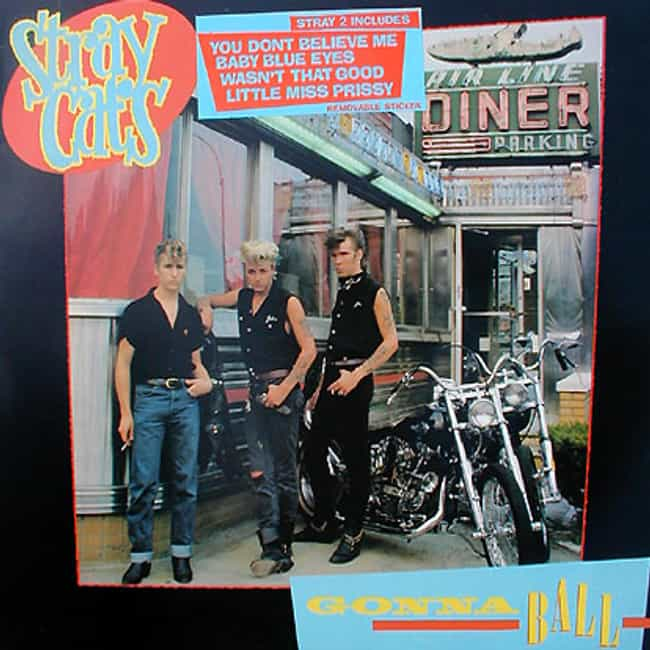 Gonna Ball is listed (or ranked) 4 on the list The Best Stray Cats Albums of All Time