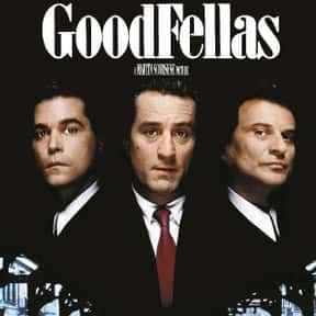 Goodfellas is listed (or ranked) 3 on the list Famous Movies Filmed in New York City