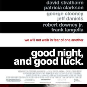 Good Night, and Good Luck is listed (or ranked) 15 on the list The Best Cold War Movies