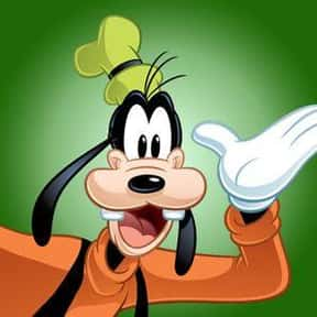 Goofy is listed (or ranked) 10 on the list The Greatest Cartoon Characters in TV History