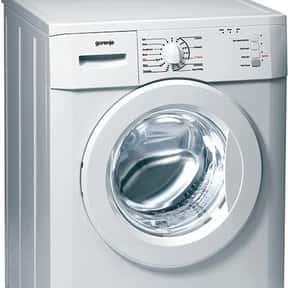 Gorenje is listed (or ranked) 13 on the list The Best Washing Machine Brands