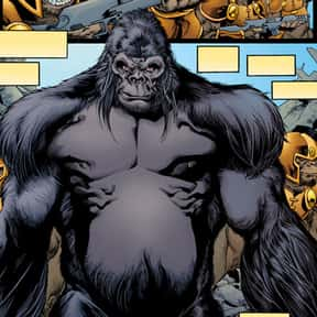 Gorilla Grodd is listed (or ranked) 14 on the list The Best Villains The Justice League Has Ever Faced