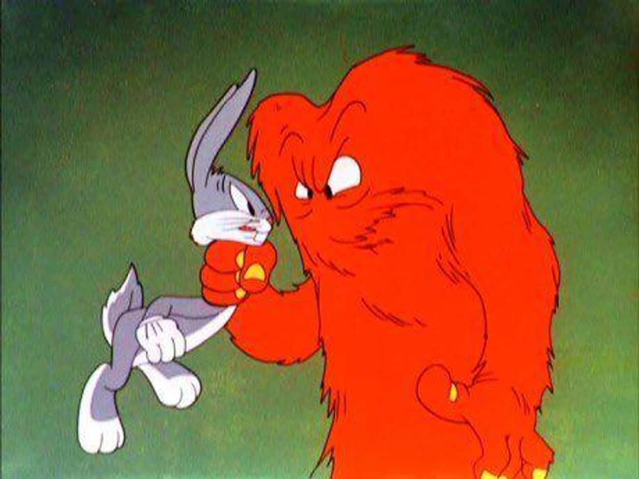 Gossamer is listed (or ranked) 2 on the list The Strongest Characters In 'Looney Tunes'