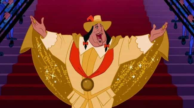 Governor Ratcliffe is listed (or ranked) 2 on the list 10 Disney Villains Who, Let's Face It, Are Probably Gay