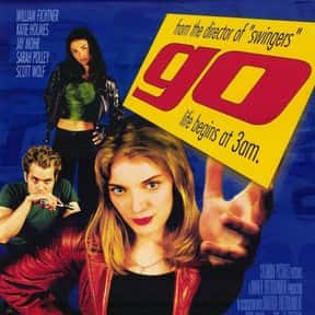 Go is listed (or ranked) 20 on the list The Greatest Party Movies Ever Made