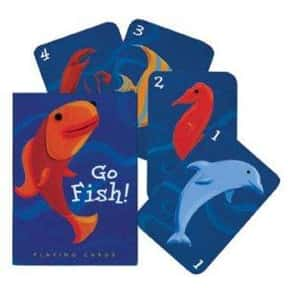 Go Fish is listed (or ranked) 19 on the list The Most Popular & Fun Card Games