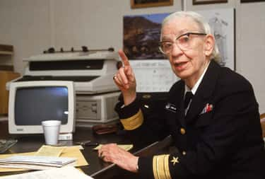 Grace Hopper is listed (or ranked) 1 on the list The Greatest Renaissance Women in American History
