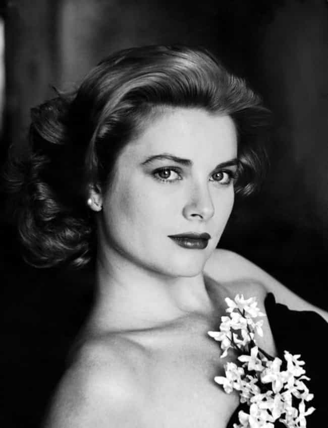 Grace Kelly is listed (or ranked) 3 on the list The Most Beautiful Actresses Ever