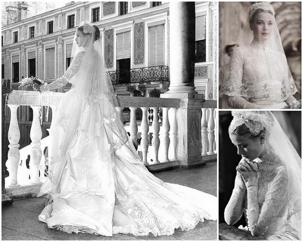 Grace Kelly is listed (or ranked) 1 on the list The Most Stunning Celebrity Wedding Dresses