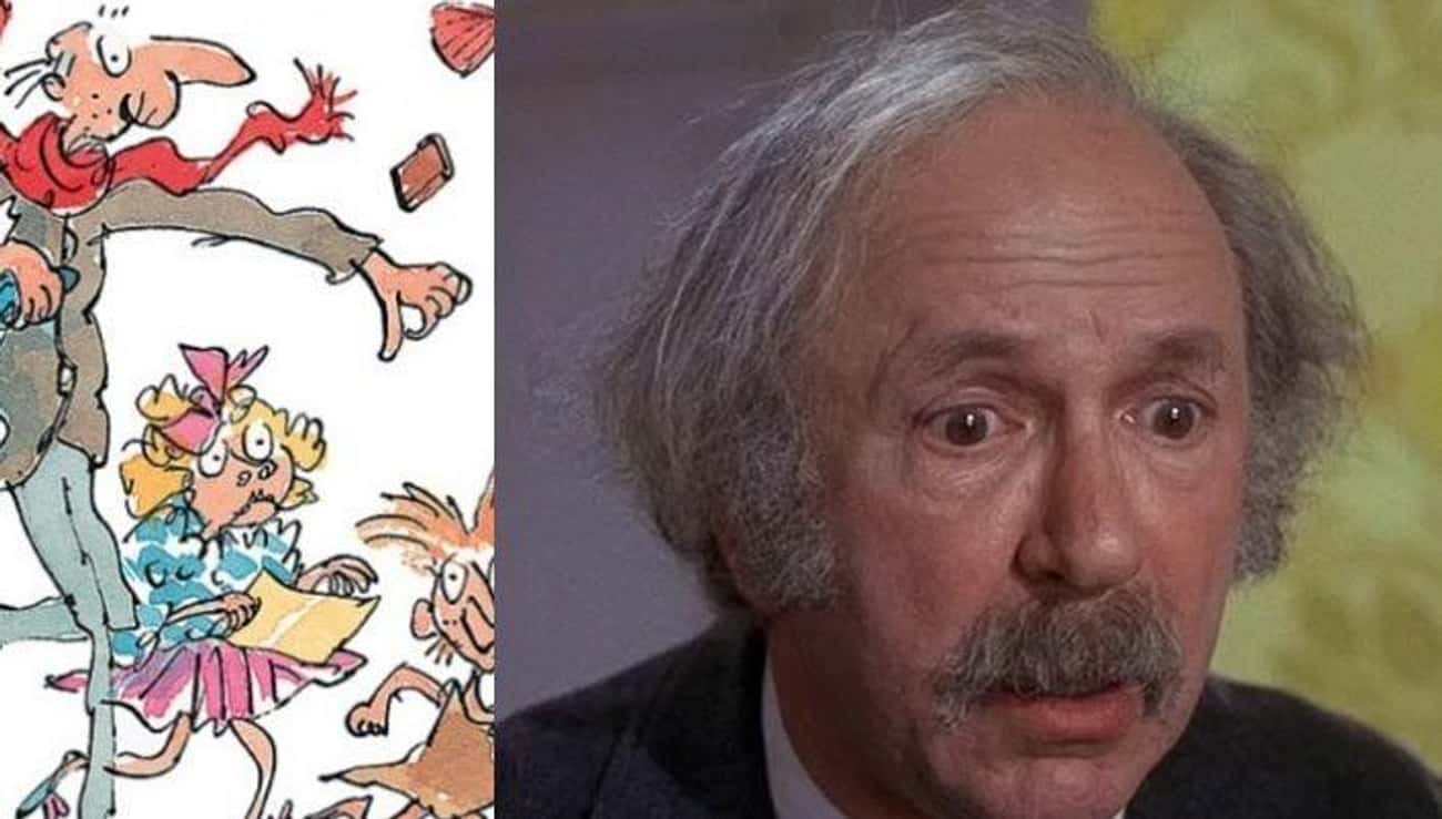 Grandpa Joe is listed (or ranked) 4 on the list Roald Dahl Movie Characters Who Look Like You Want Them To