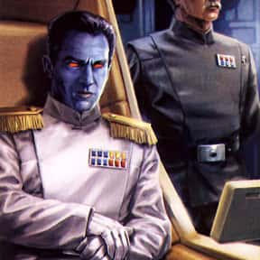 Grand Admiral Thrawn is listed (or ranked) 19 on the list Which Star Wars Characters Deserve Spinoff Movies?