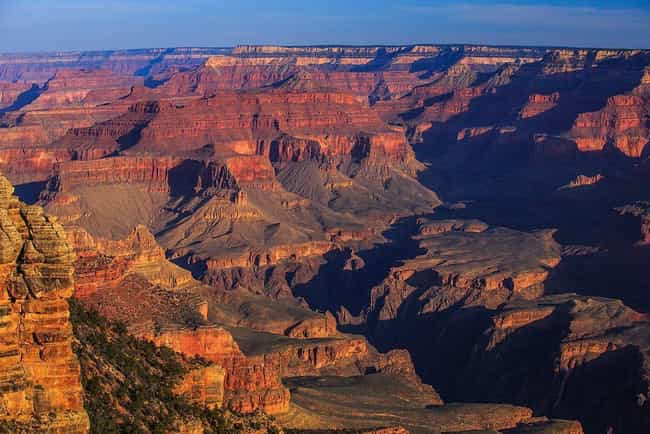Grand Canyon is listed (or ranked) 5 on the list The Most Beautiful Places In America