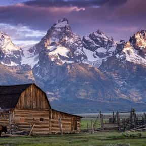 Grand Teton National Park is listed (or ranked) 4 on the list The Best National Parks in the USA