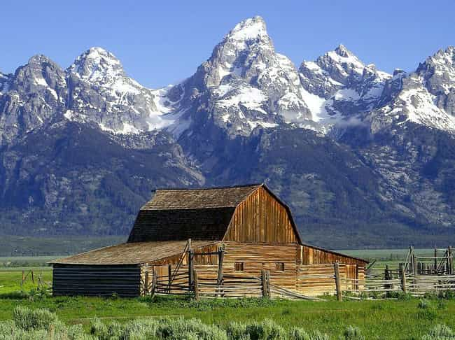 Grand Teton National Park is listed (or ranked) 4 on the list The Most Beautiful Places In America