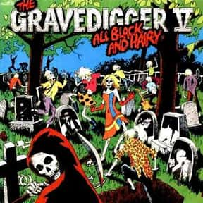 Gravedigger V is listed (or ranked) 7 on the list Bomp! Records Complete Artist Roster