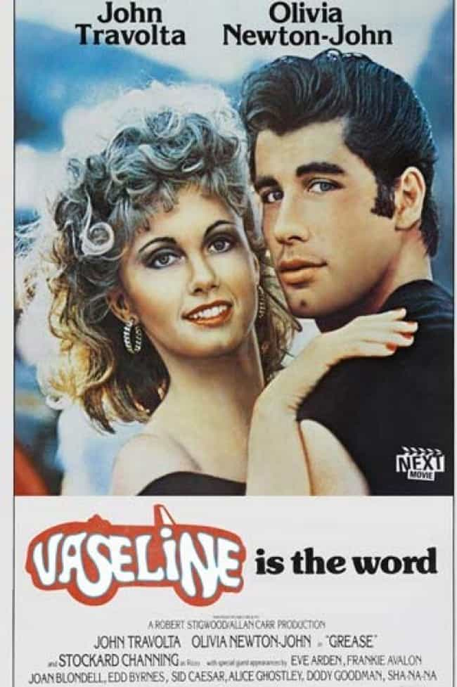 Grease is listed (or ranked) 1 on the list 24 Absolutely Ridiculous Foreign Posters for American Movies