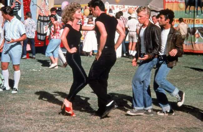 Grease is listed (or ranked) 4 on the list The Objectively Worst Decisions In Rom-Com History