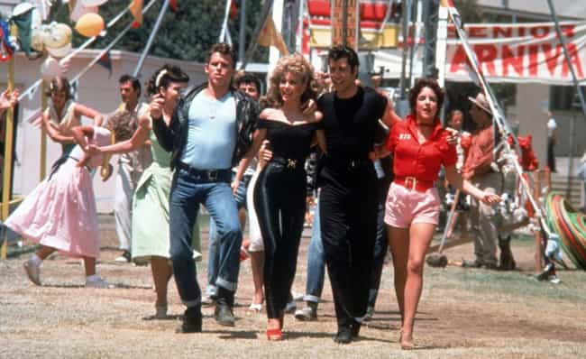 Grease is listed (or ranked) 4 on the list The Sexiest Movie Casts from the 70s