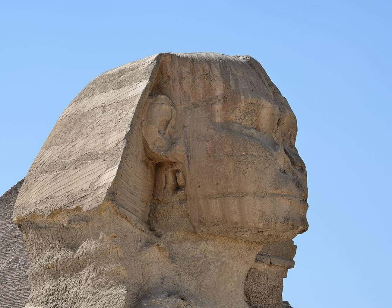 The Sphinx's Nose May Have Bee is listed (or ranked) 2 on the list How Famous Monuments Got Ruined