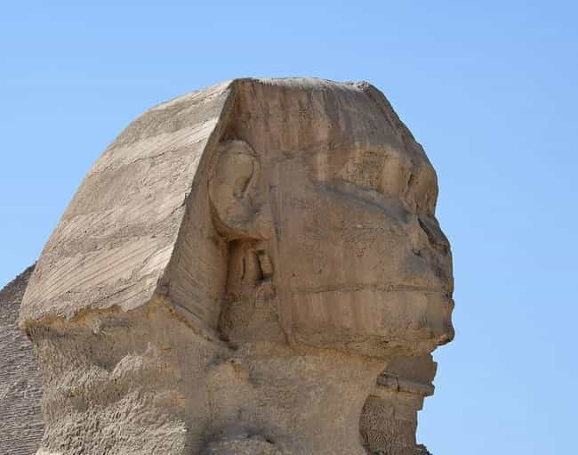 Great Sphinx of Giza is listed (or ranked) 2 on the list How Famous Monuments Got Ruined