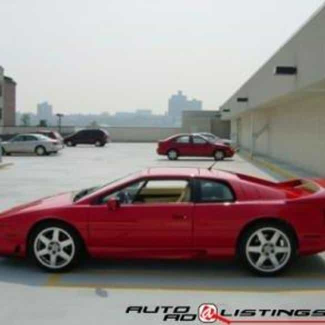 1995 Lotus Esprit Turbo ... is listed (or ranked) 2 on the list The Best Lotus Esprits of All Time