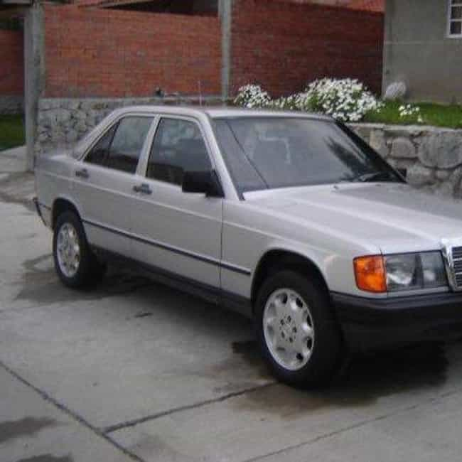 1984 Mercedes-Benz 190 is listed (or ranked) 1 on the list List of Popular Mercedes-Benz Sedans