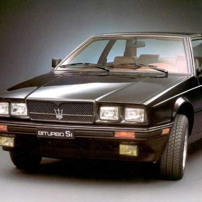All Maserati Biturbo Cars