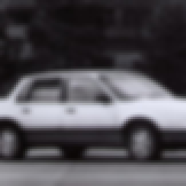 1984 Pontiac 6000 is listed (or ranked) 1 on the list List of Popular Pontiac 6000s