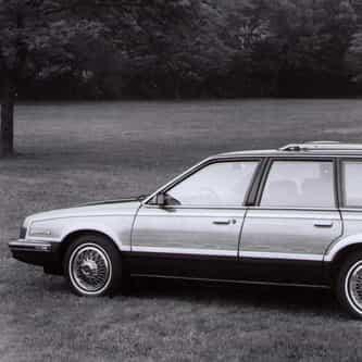 1991 Pontiac 6000 Station Wagon