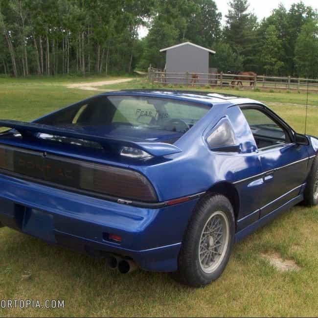 1986 Pontiac Fiero is listed (or ranked) 3 on the list List of Popular Pontiac Fieros