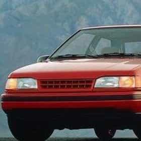 1988 Mitsubishi Precis Sedan