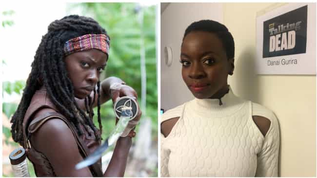 Danai Gurira is listed (or ranked) 1 on the list What The Walking Dead Cast Looks Like In A World Without The Zombie Apocalypse