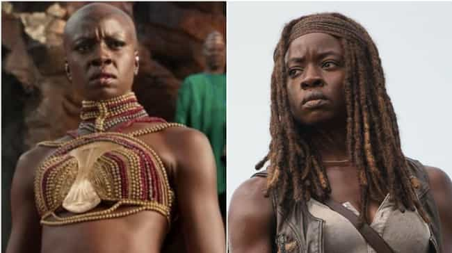 Danai Gurira is listed (or ranked) 4 on the list Where You've Seen All The Black Panther Actors Before