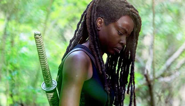 Danai Gurira is listed (or ranked) 3 on the list What The Cast Of 'The Walking Dead' Thinks About The Series