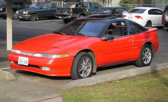 1991 Mitsubishi Eclipse ... is listed (or ranked) 2 on the list List of 1991 Mitsubishis