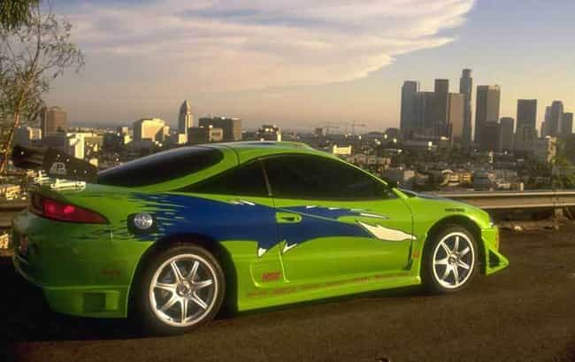 1995 Mitsubishi Eclipse Conver... is listed (or ranked) 4 on the list The Coolest Cars from the Fast and the Furious Movies
