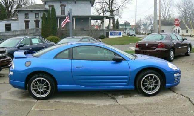 2002 Mitsubishi Eclipse Hatchb... is listed (or ranked) 2 on the list List of 2002 Mitsubishis