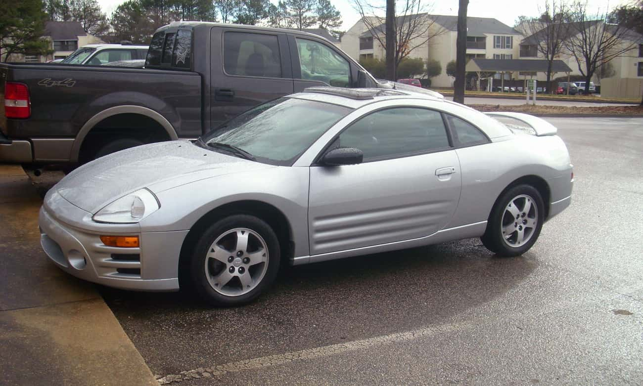 2004 Mitsubishi Eclipse Hatchb is listed (or ranked) 2 on the list List of 2004 Mitsubishis