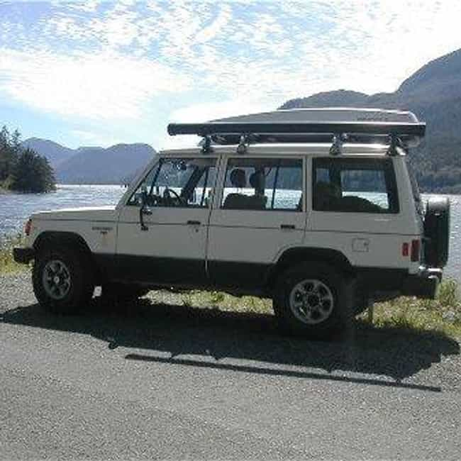 1991 Mitsubishi Montero is listed (or ranked) 2 on the list The Best Mitsubishi Pajeros of All Time