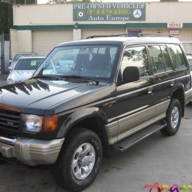 1996 Mitsubishi Montero is listed (or ranked) 4 on the list The Best Mitsubishi Pajeros of All Time