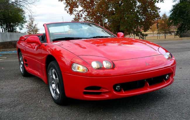 1998 Mitsubishi 3000GT Spyder is listed (or ranked) 2 on the list List of Popular Mitsubishi GTOs