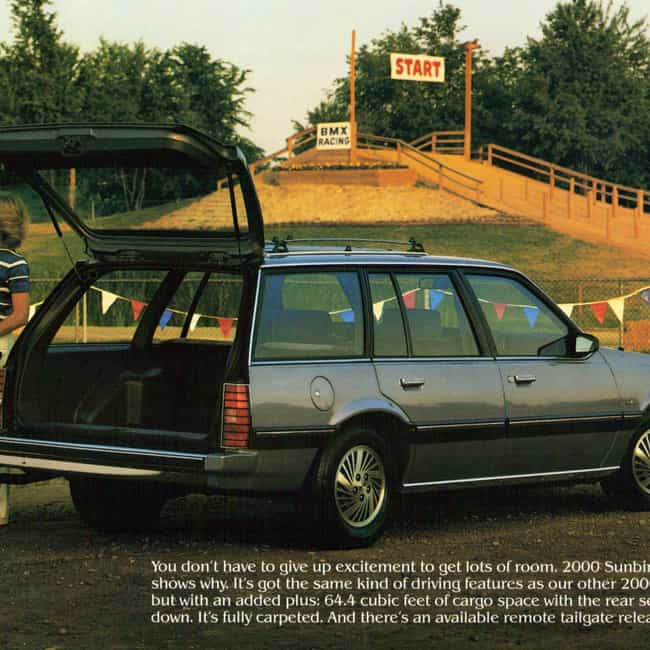 1984 Pontiac Sunbird Station W... is listed (or ranked) 1 on the list List of Popular Station Wagons