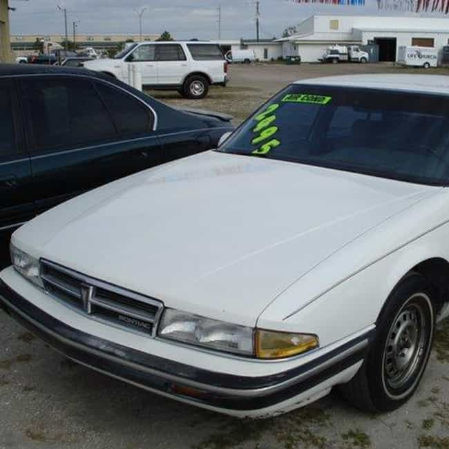 1988 Pontiac Bonneville ... is listed (or ranked) 4 on the list List of 1988 Pontiacs