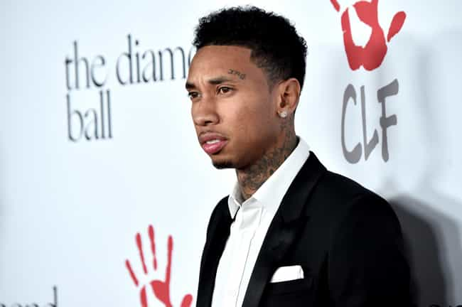 Tyga is listed (or ranked) 3 on the list Rappers with Neck Tattoos