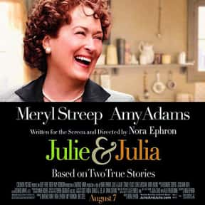 Julie & Julia is listed (or ranked) 13 on the list The Best Meryl Streep Movies