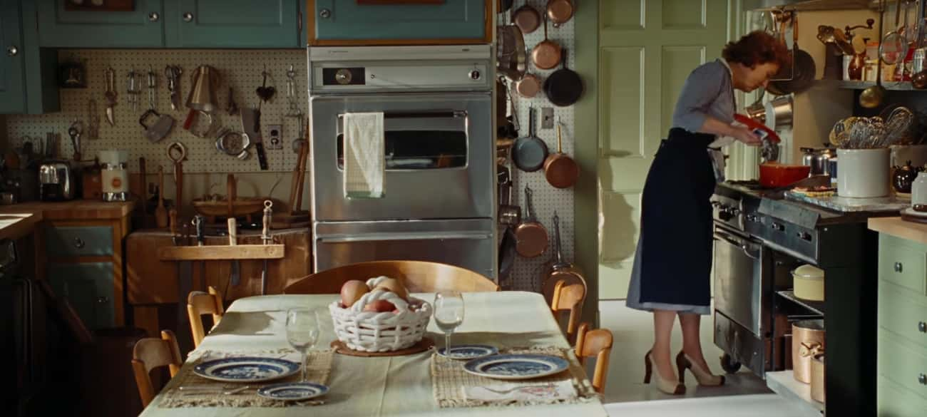 Julia Child's Kitchen In 'Juli is listed (or ranked) 1 on the list The Best Movie Kitchens Of All Time